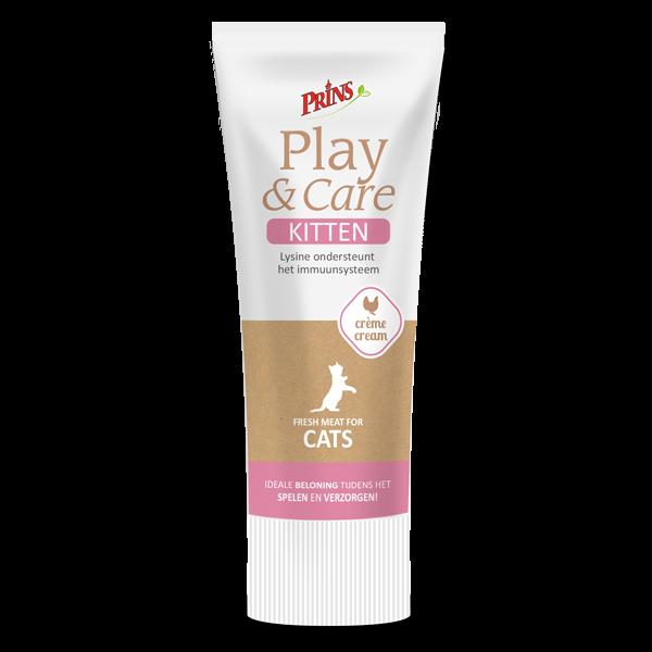 snack anak kucing - Prins Play & Care krim kitten