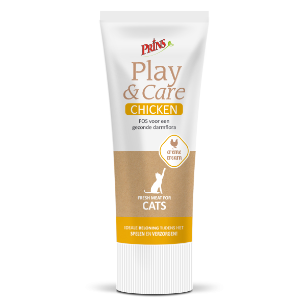 snack kucing - Prins Play & Care krim ayam